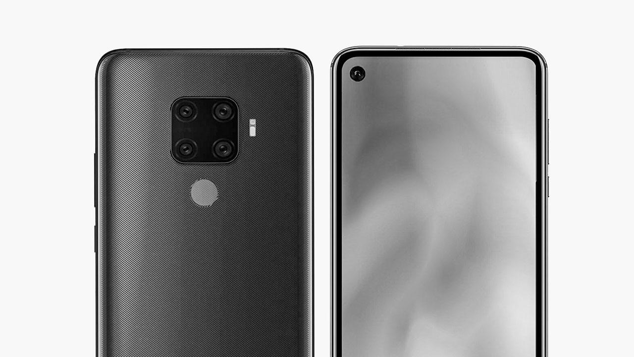 Huawei Mate 30 Lite xuất hiện trên TENAA với cụm 4 camera sau hình vuông, màn hình đục lỗ