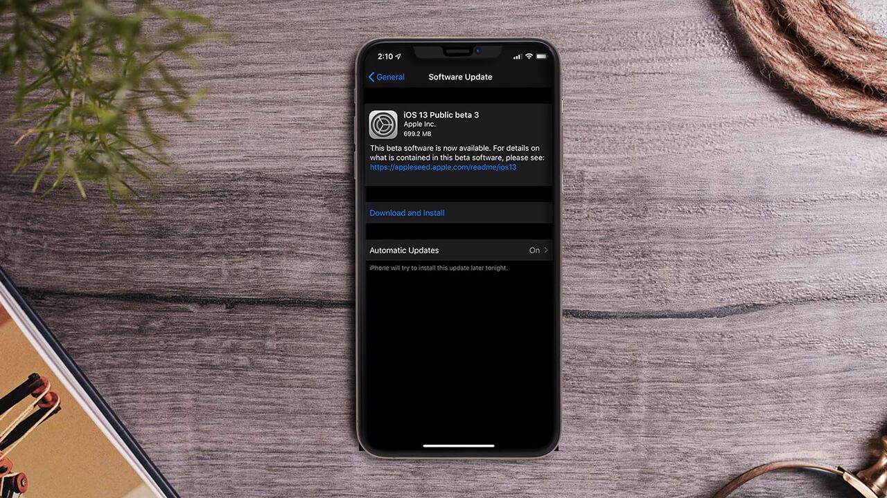 Apple phát hành iPadOS và iOS 13 Public beta 3 với khả năng hoạt động ổn định hơn, anh em cập nhật ngay nhé