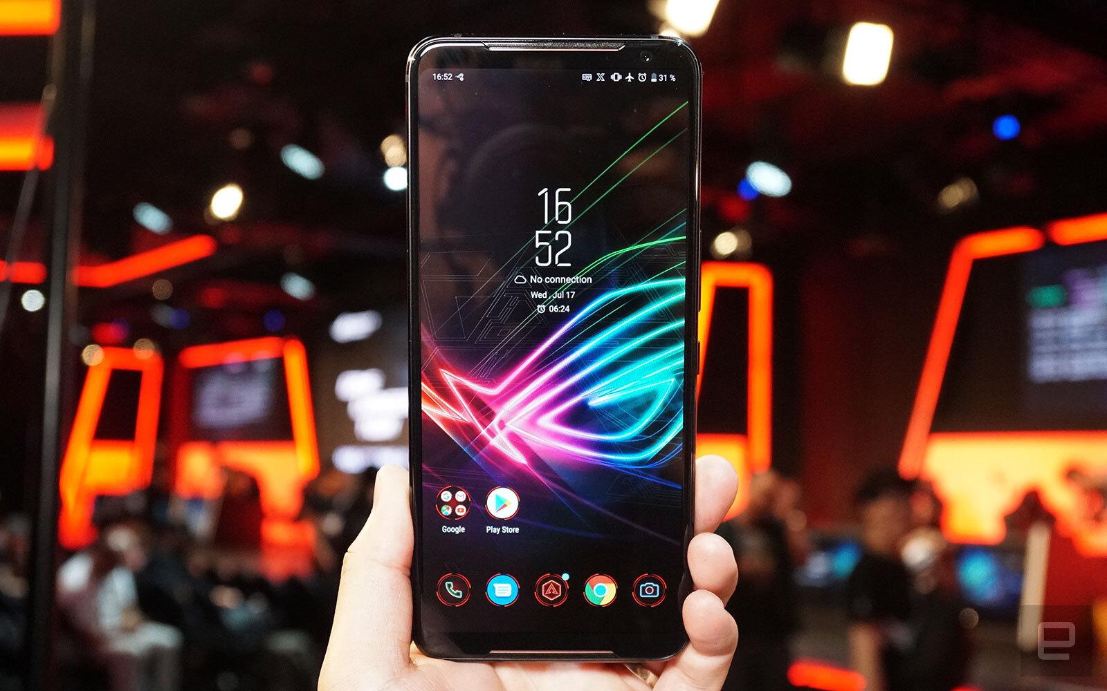 ASUS ROG Phone II: Chip Snapdragon 855+, màn hình 120Hz, pin 6000 mAh, RAM từ 8GB, giá chỉ từ 12 triệu