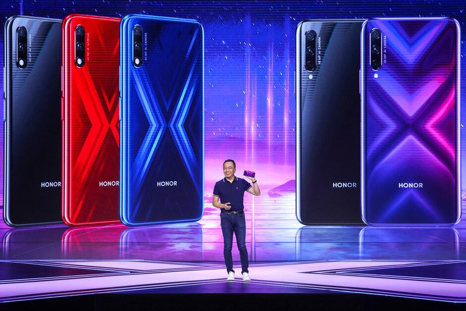 Honor 9X và 9X Pro ra mắt với chip Kirin 810, camera 48MP, camera selfie pop-up, giá từ 4.7 triệu đồng