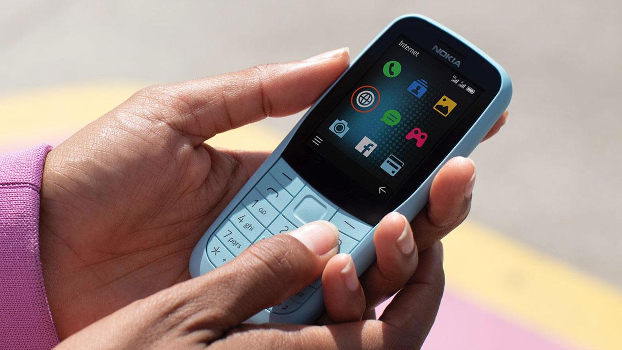 HMD Global ra mắt điện thoại cục gạch Nokia 220 4G và Nokia 105 (2019)