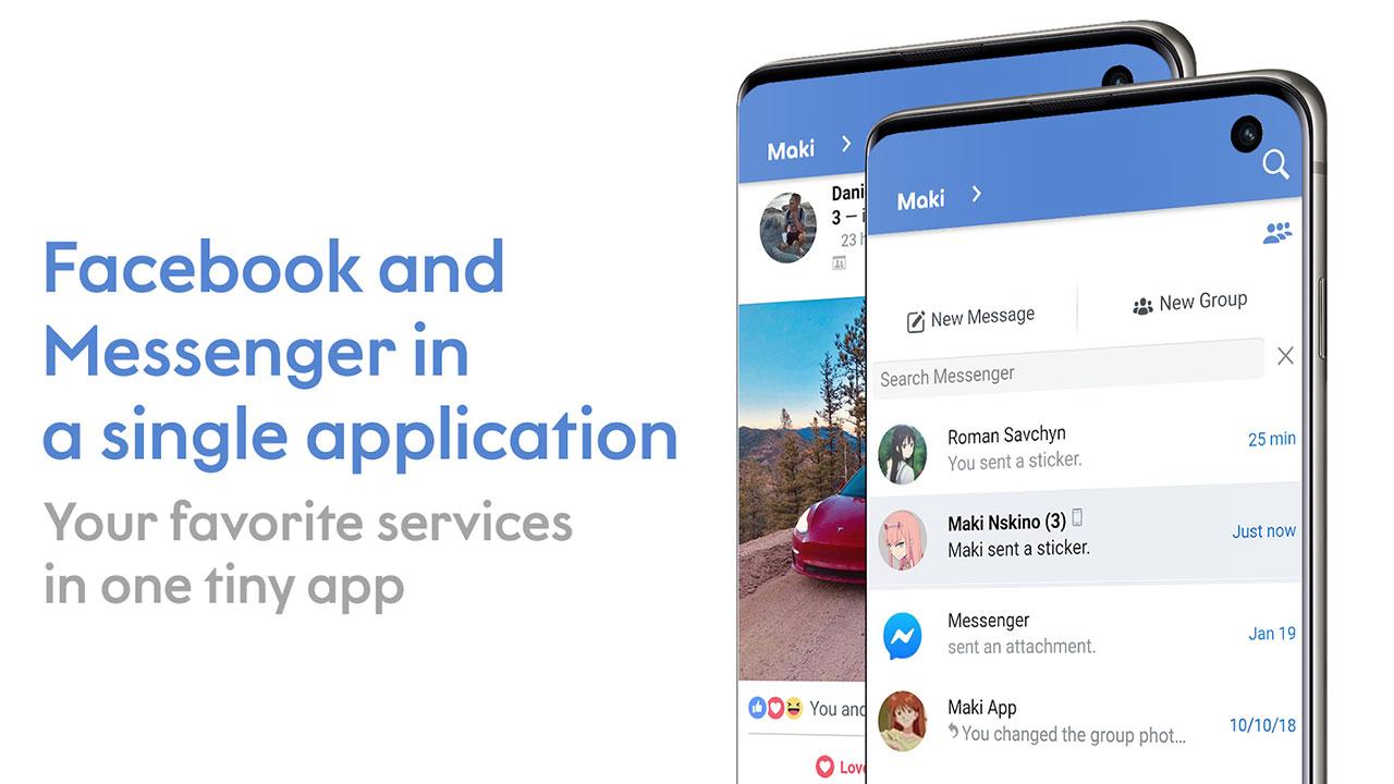 Mời tải về Maki Plus, phiên bản Facebook Lite hỗ trợ chặn quảng cáo, dark mode và nhiều tính năng hữu ích khác đang miễn phí trên Play Store