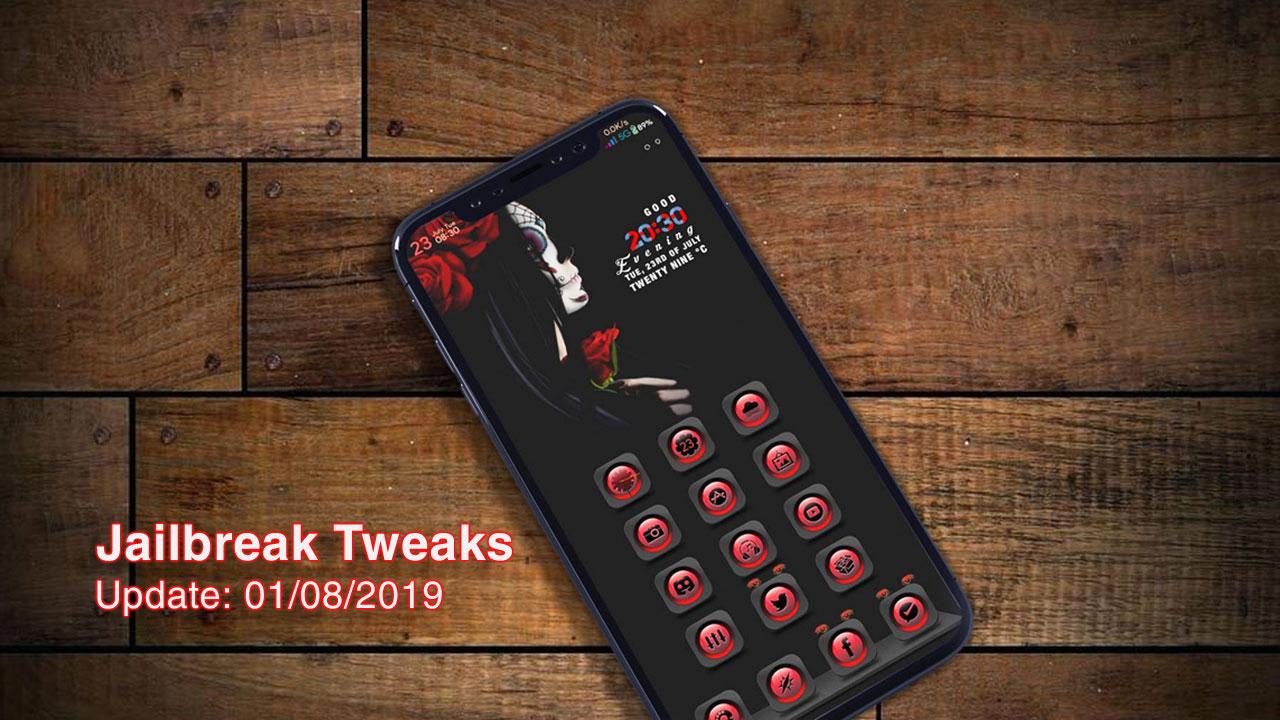 [31/07/2019] Tổng hợp danh sách các tweak nổi bật mới được phát hành dành cho thiết bị iOS đã jailbreak