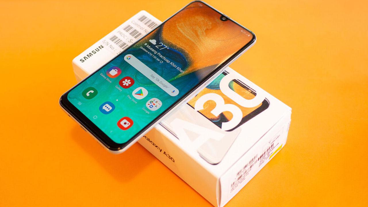 Rò rỉ thông số Samsung Galaxy A30s, 3 camera sau, mạnh hơn một chút so với Galaxy A30