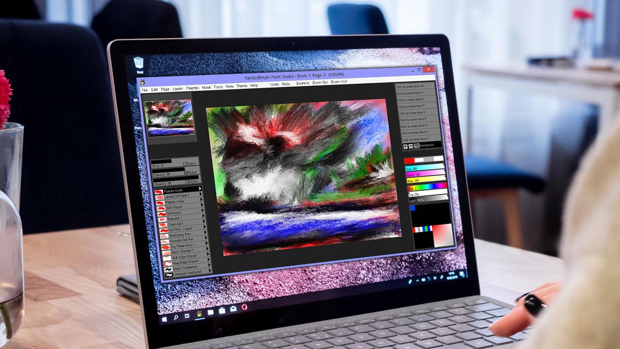 Nhanh tay tải về miễn phí TwistedBrush Paint Studio: Phần mềm thay thế Microsoft Paint hỗ trợ vẽ nâng cao trị giá 29 USD