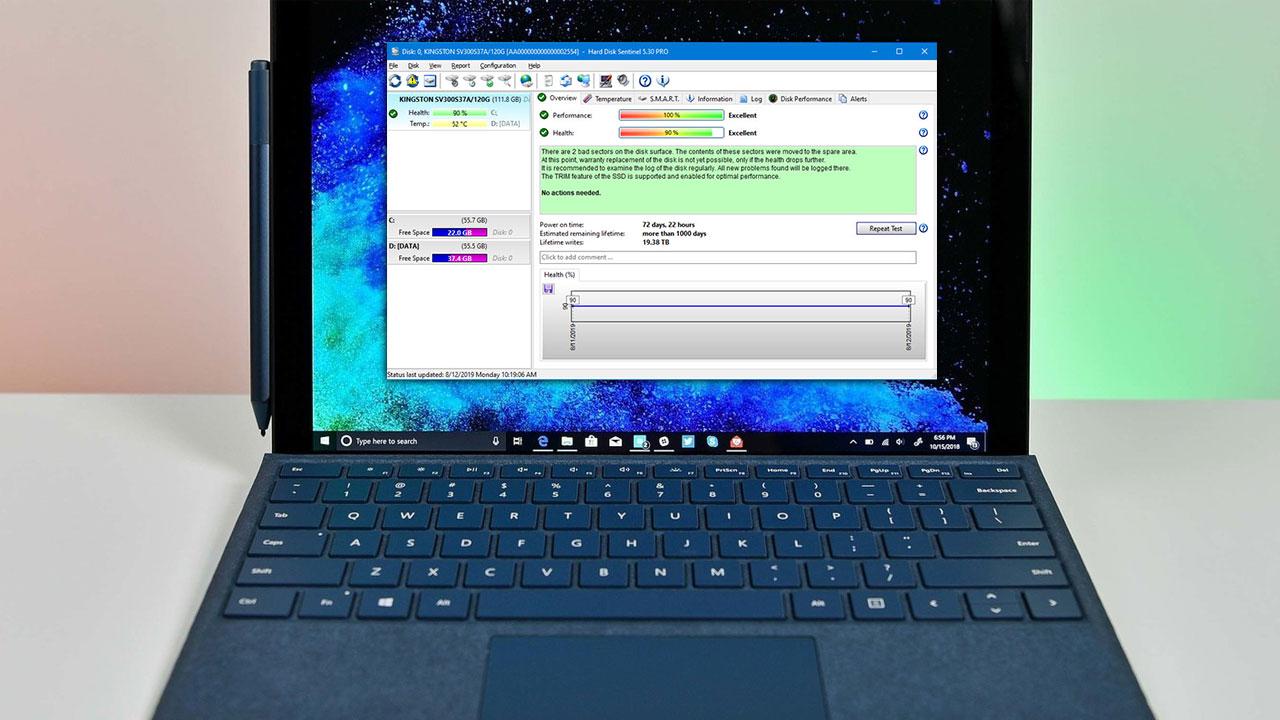 Hướng dẫn kiểm tra toàn diện ổ cứng HDD và SSD trên Windows bằng Hard Disk Sentinel