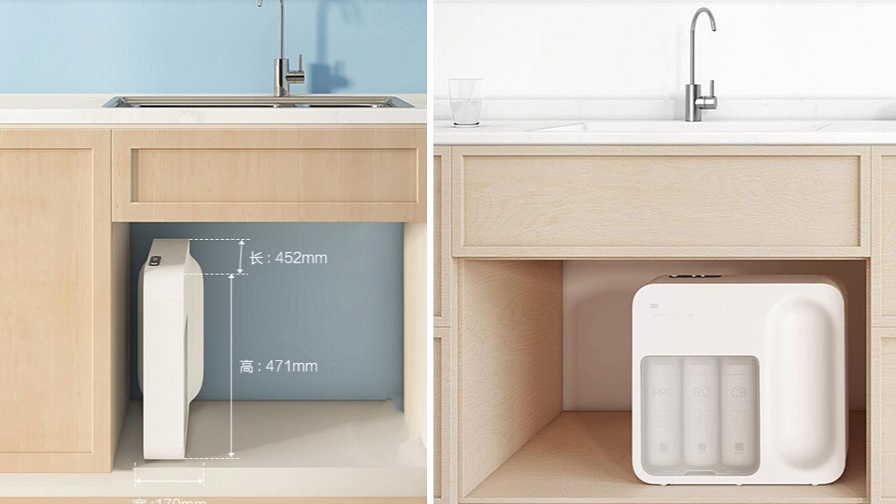 Xiaomi ra mắt máy lọc nước thông minh Lentils, công nghệ lọc thẩm thấu ngược 4 cấp, giá 141 USD