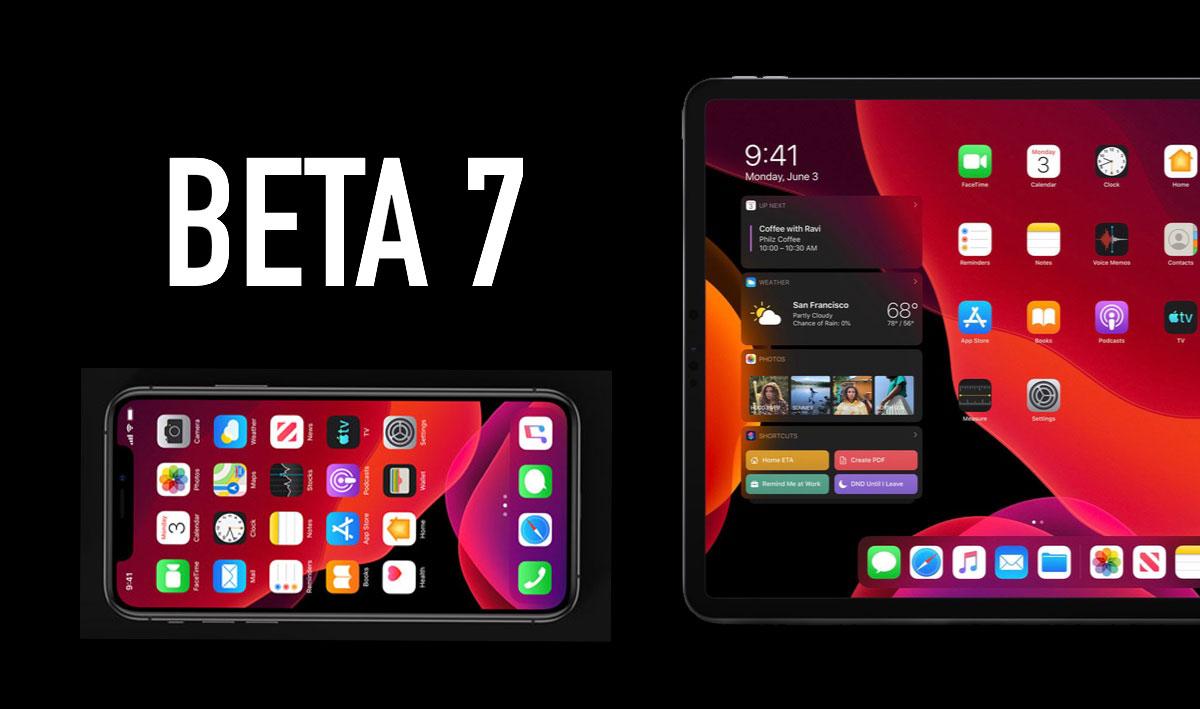 Tổng hợp các tính năng và thay đổi trong bản cập nhật iPadOS và iOS 13 Developer beta 7