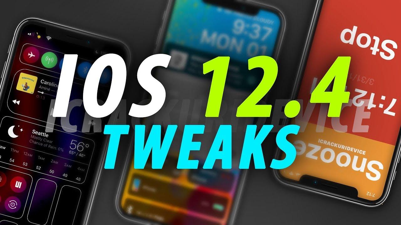 Tổng hợp các tweak đã tương thích với unc0ver jailbreak iOS 12.4
