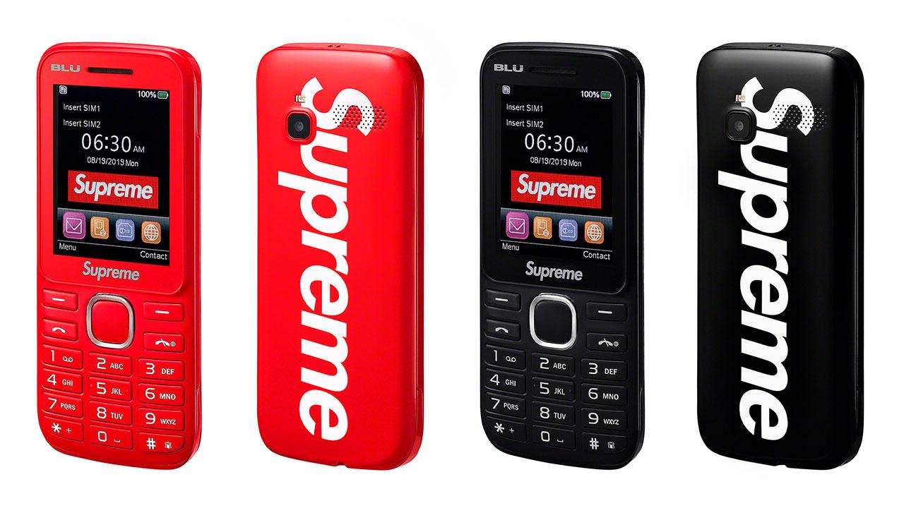 Supreme ra mắt điện thoại cục gạch, màn hình 2,4 inch, giá tương đương smartphone flagship