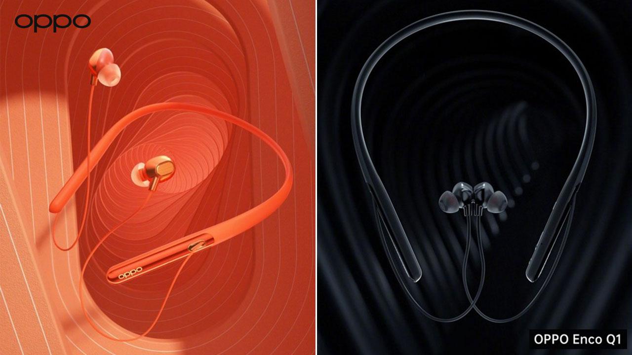 OPPO hé lộ thiết kế của ENCO Q1, mẫu tai nghe không dây có khả năng chống tiếng ồn