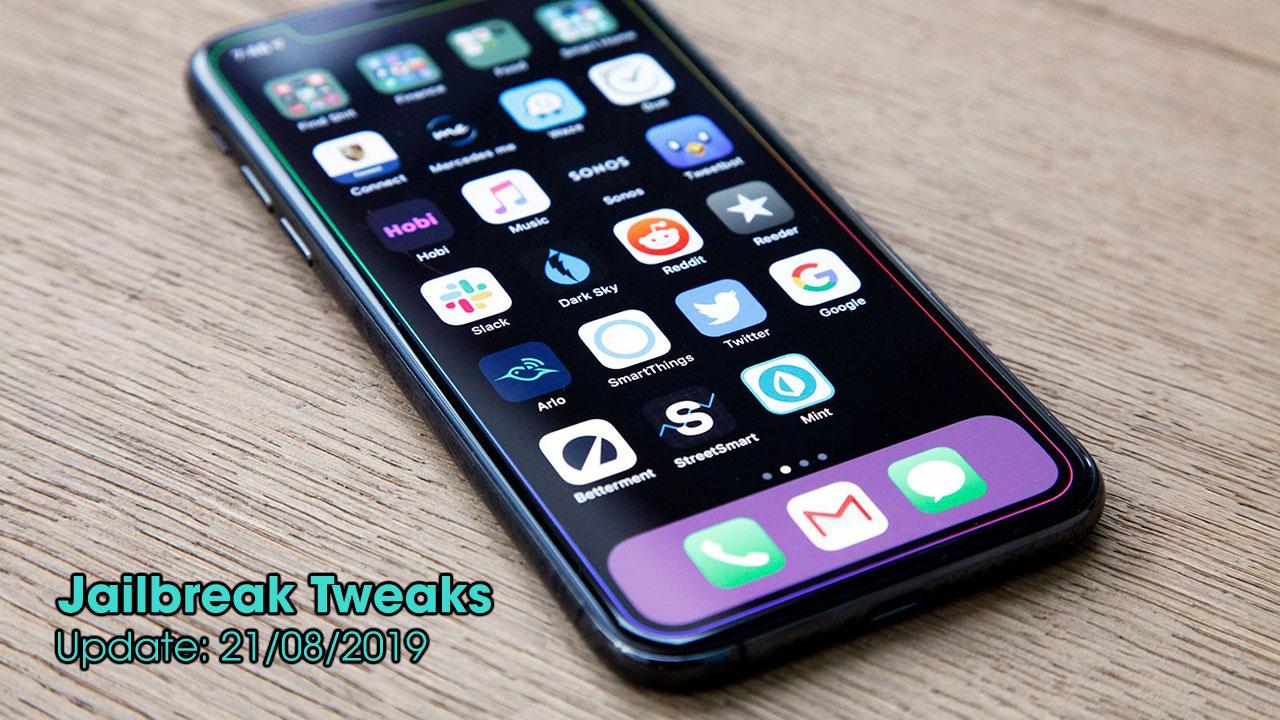 [21/08/2019] Tổng hợp danh sách các tweak nổi bật mới được phát hành dành cho thiết bị iOS đã jailbreak