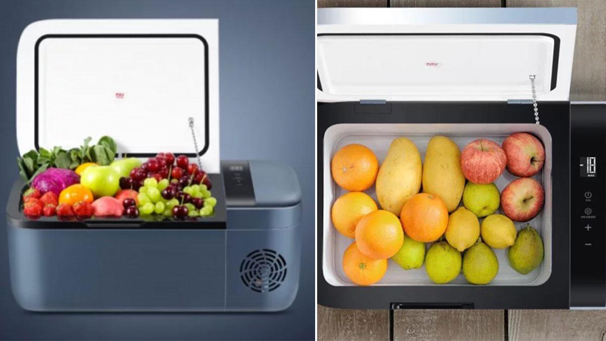 Xiaomi ra mắt Tủ lạnh để trên ô tô Indel B với cabin 12L,nhiệt độ tối ưu -18°C, giá 280 USD