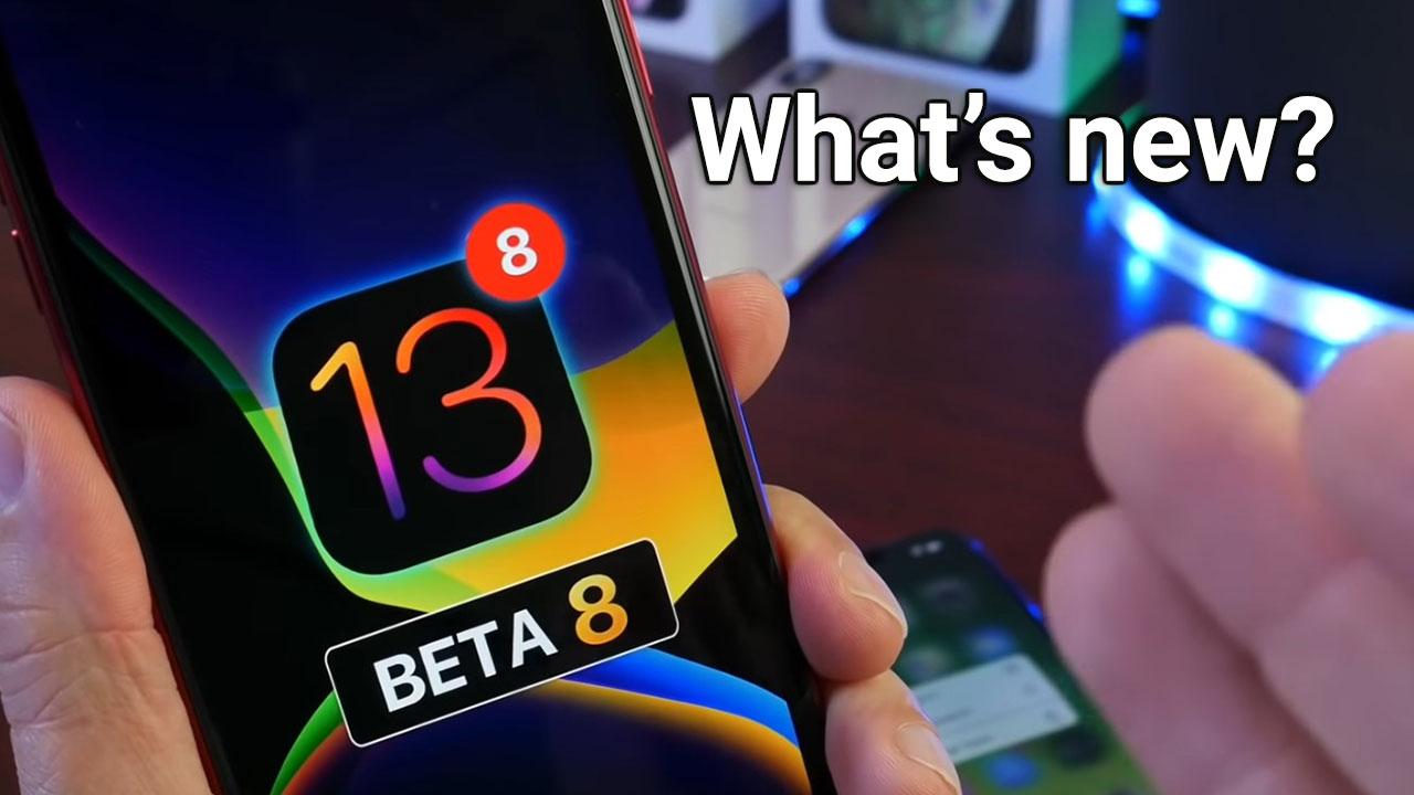 Tổng hợp các tính năng và thay đổi trong bản cập nhật iPadOS / iOS 13 Developer beta 8 và Public beta 7