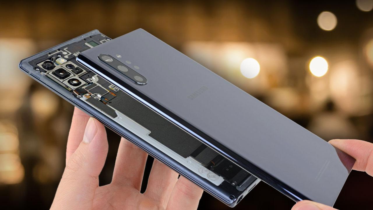 Teardown Galaxy Note 10+ 5G: Thiết kế gọn gàng hơn và cũng khó sửa chữa hơn, chấm điểm 3/10