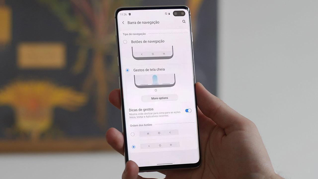 Những hình ảnh đầu tiên về Android 10 và One UI 2.0 trên Galaxy S10+, với thao tác điều hướng cử chỉ mới