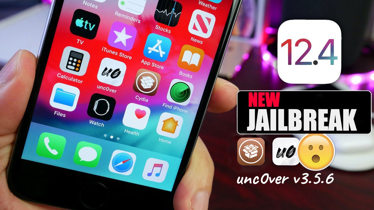 Pwn20wnd cập nhật unc0ver v3.5.6, hỗ trợ Jailbreak iOS 12.4 cho các thiết bị sử dụng chip A7 - A12/A12X
