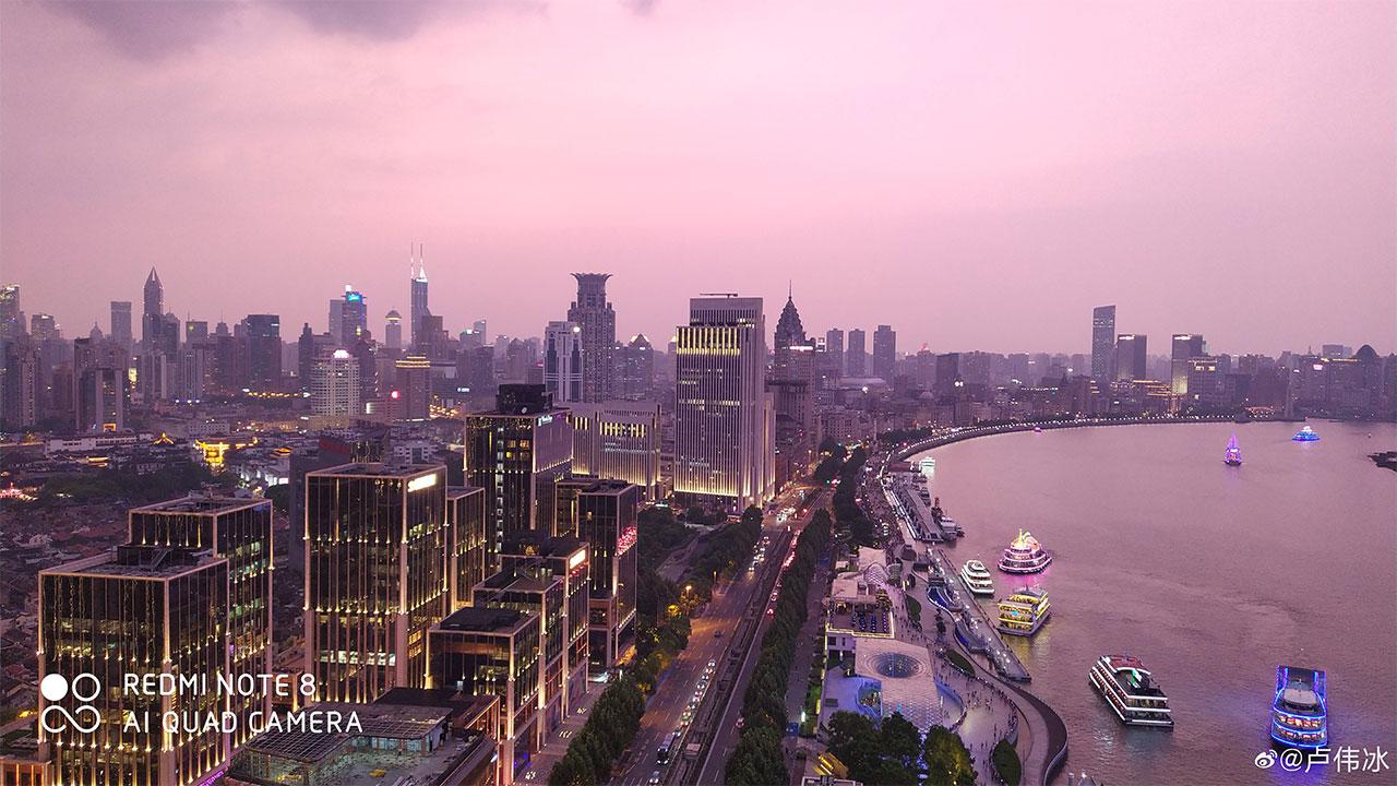 Giám đốc Redmi đăng tải những hình ảnh chụp đêm ấn tượng từ Redmi Note 8 sắp ra mắt