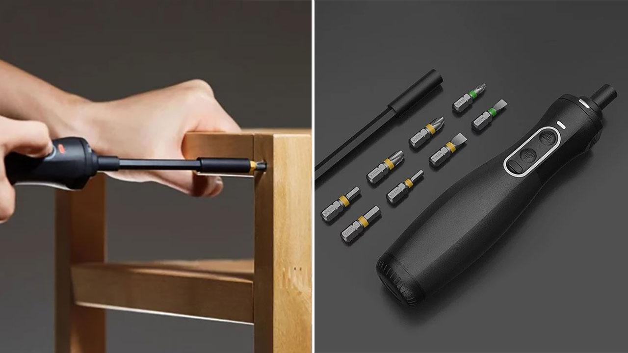 Xiaomi ra mắt bộ tuốc nơ vít thông minh, tích hợp đèn LED, giá 630.000 đồng