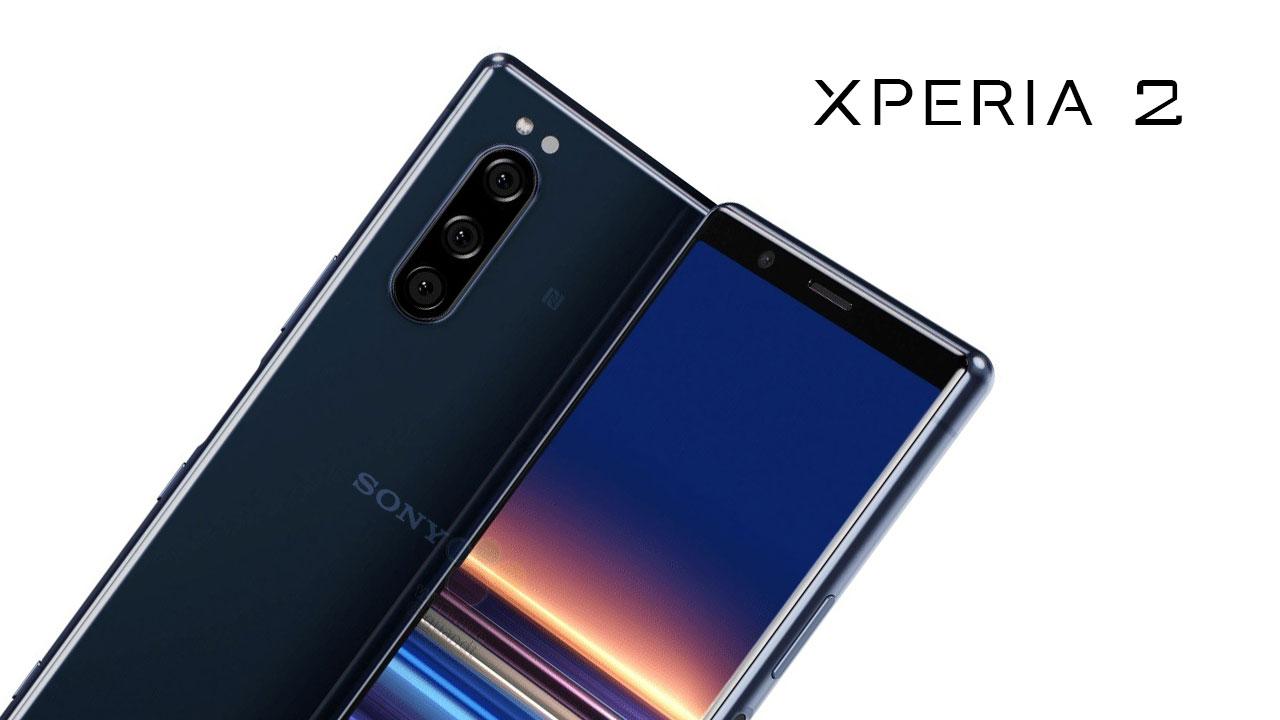 Sony Xperia 2 lộ ảnh render với thiết kế giống Xperia 1
