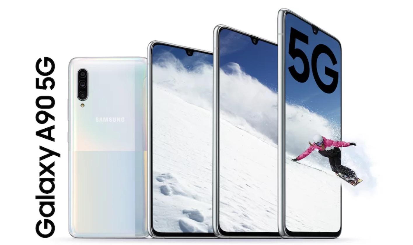 Samsung ra mắt Galaxy A90 5G với Snapdragon 855, 3 camera sau 48MP, hỗ trợ Samsung DeX, giá 17.2 triệu đồng