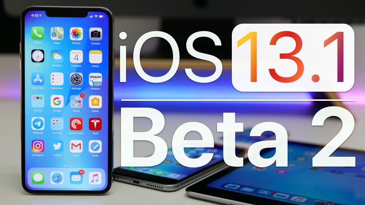 Apple phát hành iPadOS 13.1 và iOS 13.1 beta 2, anh em lên ngay để trải nghiệm nhé