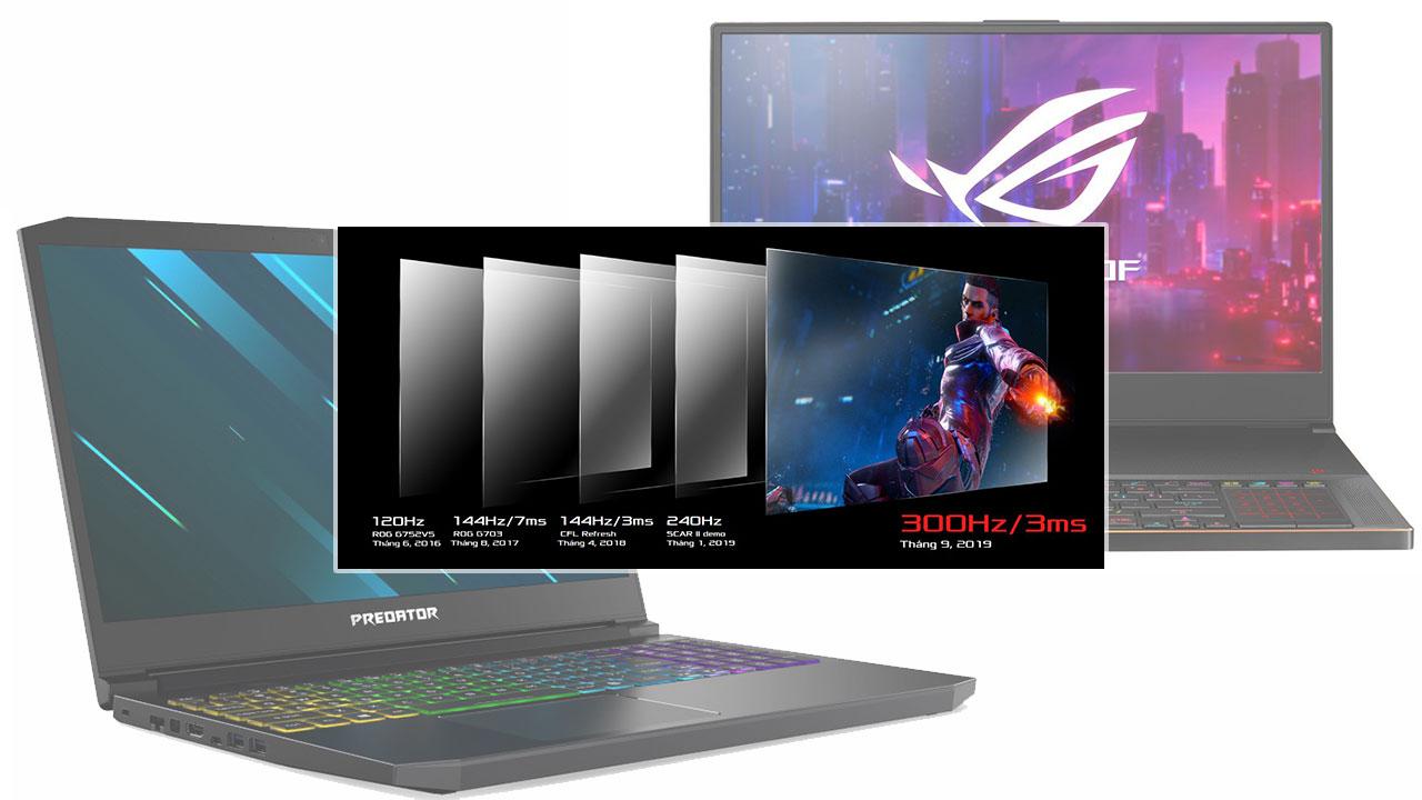 [IFA 2019] Asus và Acer công bố laptop gaming màn hình với tấn số quét 300Hz đầu tiên