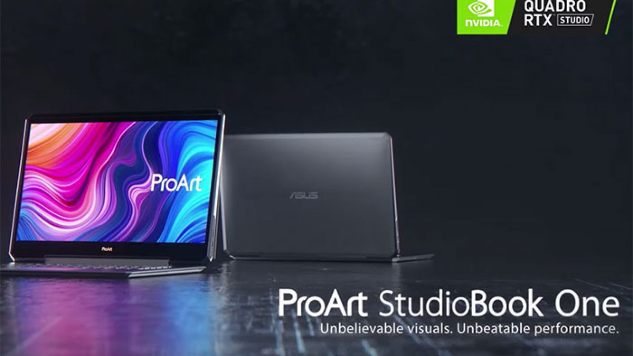 [IFA 2019] Asus ra mắt dòng laptop chuyên đồ hoạ ProArt StudioBook: Core i9, GPU Quadro RTX, RAM 128GB
