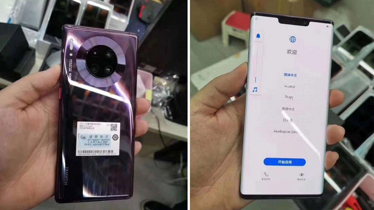 Huawei Mate 30/ Mate 30 Pro tiếp tục lộ hình ảnh thực tế sẽ có 4 phiên bản màu sắc khác nhau, camera chính 40MP, quay phim siêu chậm 7680fps