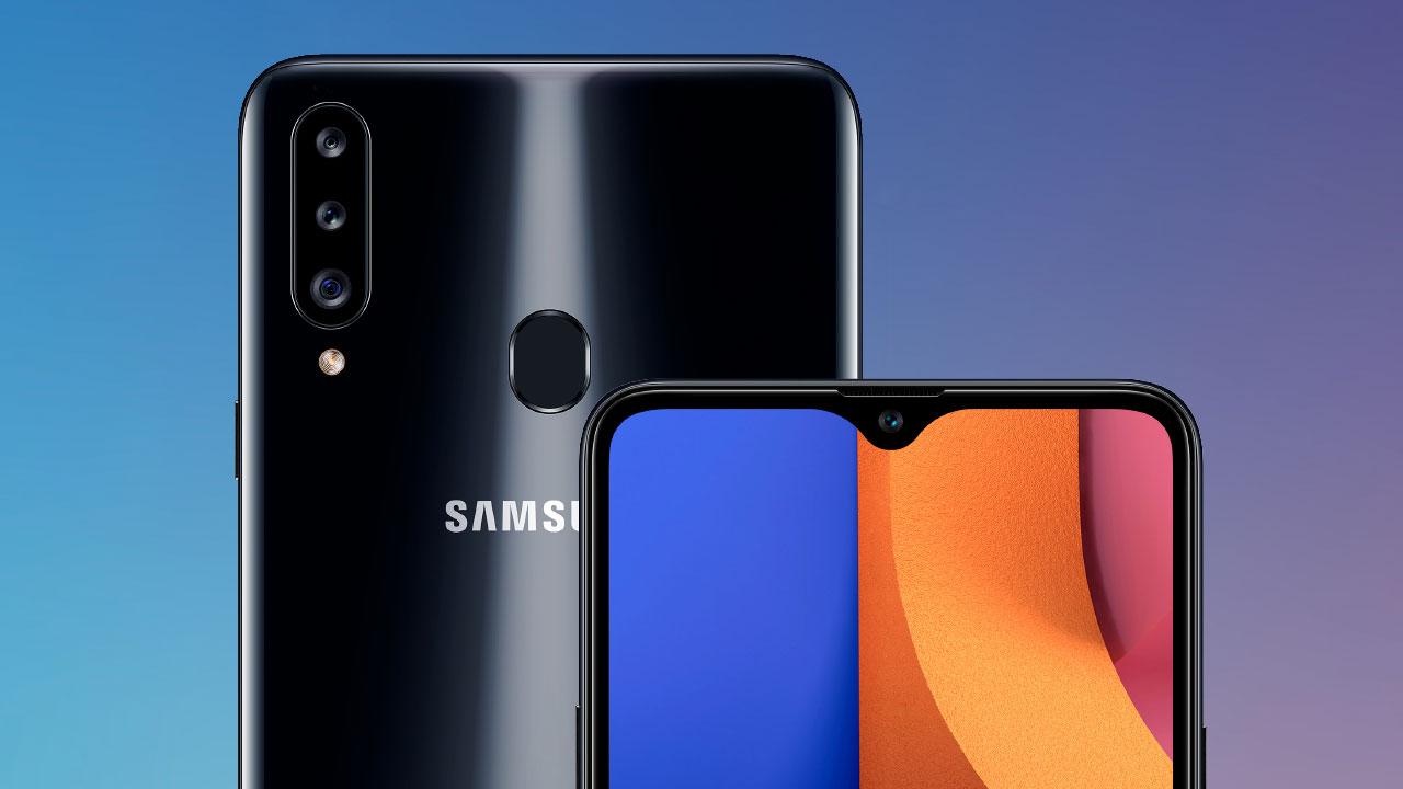 Samsung ra mắt Galaxy A20s với ba camera, màn hình Infinity-V 6.5 inch