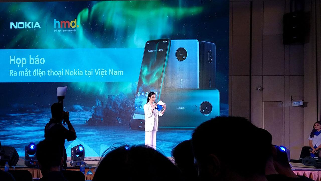 HMD Global Chính thức ra mắt Nokia 7.2 và loạt feature phone mới tại Việt Nam