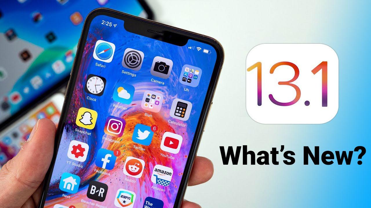 iOS 13.1: Tổng hợp những thay đổi và tính năng mới, những cải tiến, sửa lỗi trên phiên bản trước