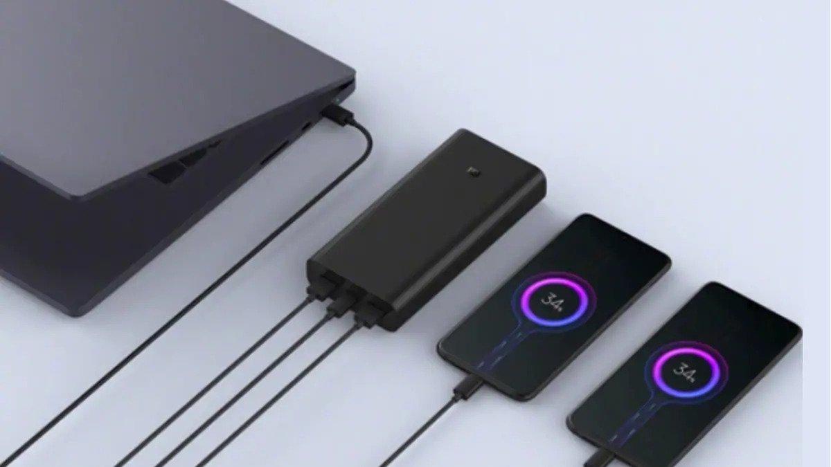 Xiaomi ra mắt sạc dự phòng Mi Power Bank 3 Pro bản mới hỗ trợ sạc nhanh 2 chiều 50W sạc được laptop, giá gần 1 triệu đồng