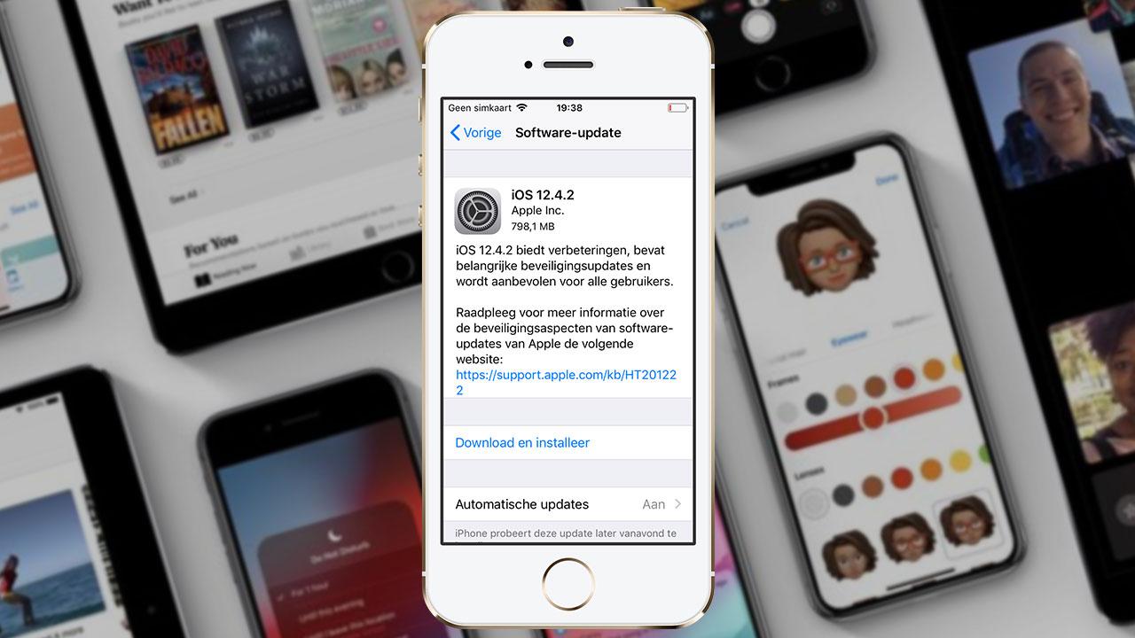 Apple phát hành phiên bản iOS 12.4.2 cho các dòng máy iPhone, iPad không được hỗ trợ lên iOS 13