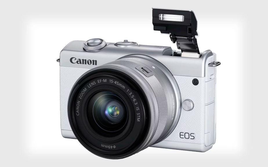 Canon ra mắt máy ảnh không gương lật EOS M200, với khả năng lấy nét nhận diện mắt và quay video 4K