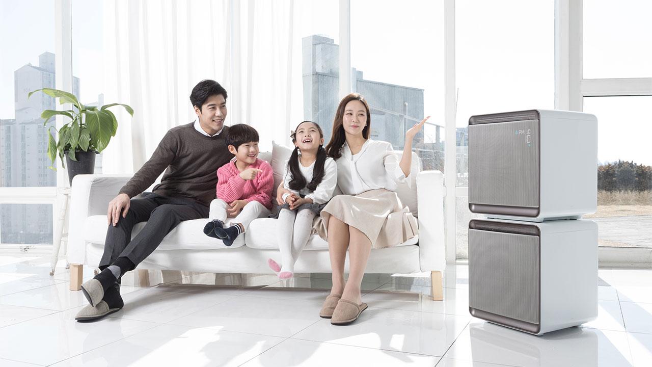 Samsung ra mắt dòng máy lọc không khí thế hệ mới, loại bỏ 99,97% các loại hạt bụi bẩn trong không khí