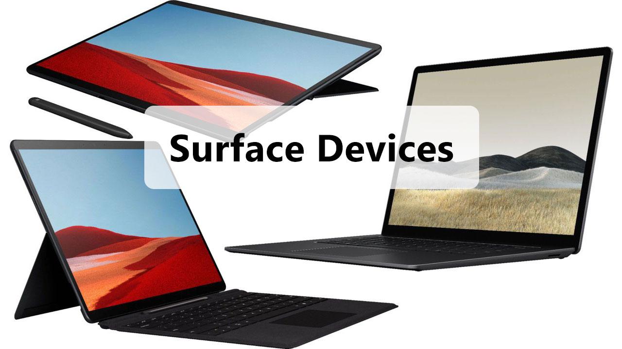 Microsoft Surface Pro 7, Surface Laptop mới và Surface sử dụng chip di động ARM lộ diện