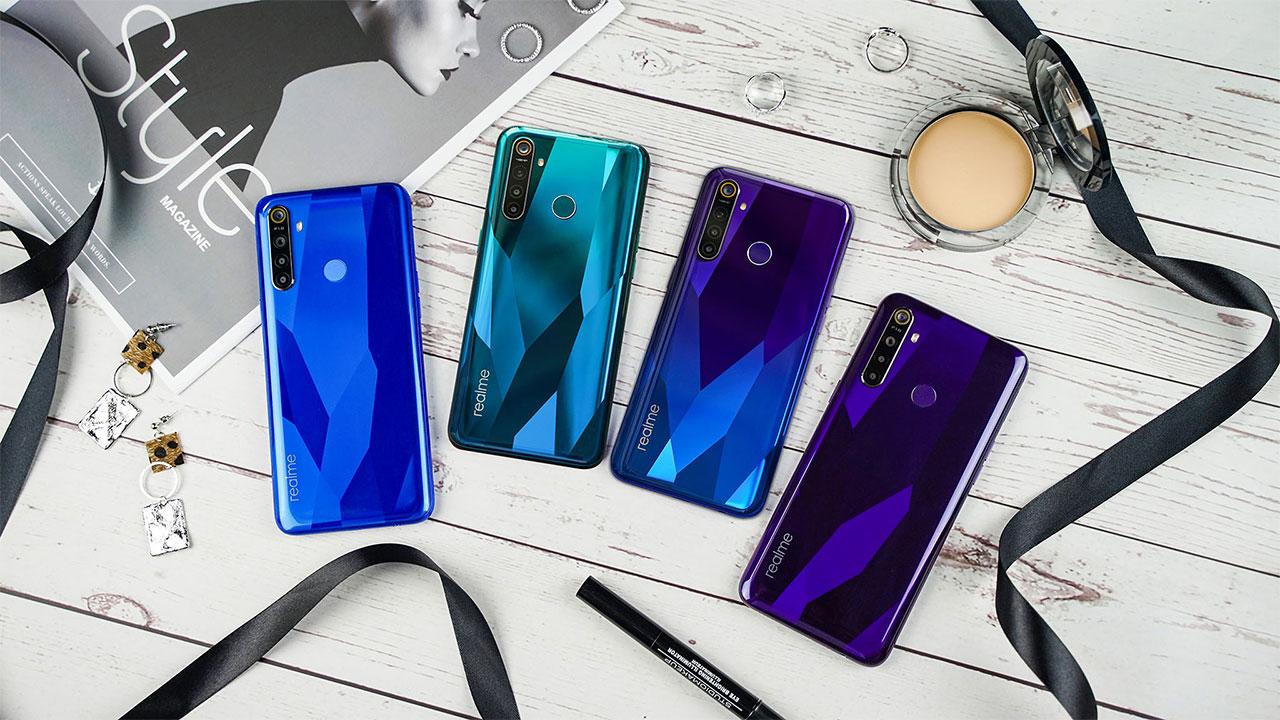 Bộ đôi Realme 5/5 Pro chính thức ra mắt tại Việt Nam: 4 camera, pin 5000mAh, sạc nhanh VOOC 3.0 20W, giá từ 3,99 triệu