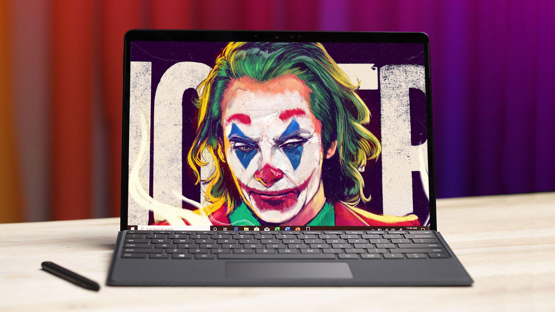 Chia sẻ bộ ảnh nền phim bom tấn Joker đang công phá phòng vé, mời anh em tải về