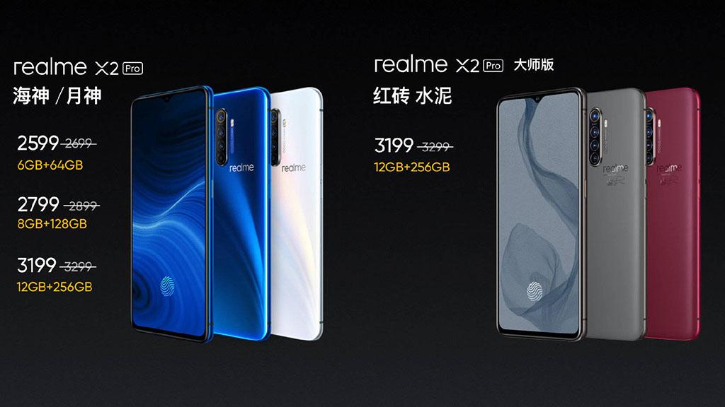 Realme X2 Pro ra mắt với Snapdragon 855+, màn hình 90Hz, 4 camera sau 64MP, sạc nhanh 50W, giá từ 8.5 triệu đồng