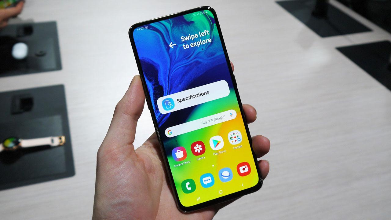 Samsung sẽ ra mắt smartphone có camera selfie ẩn dưới màn hình nhưng không phải Galaxy S11 hay Galaxy Fold