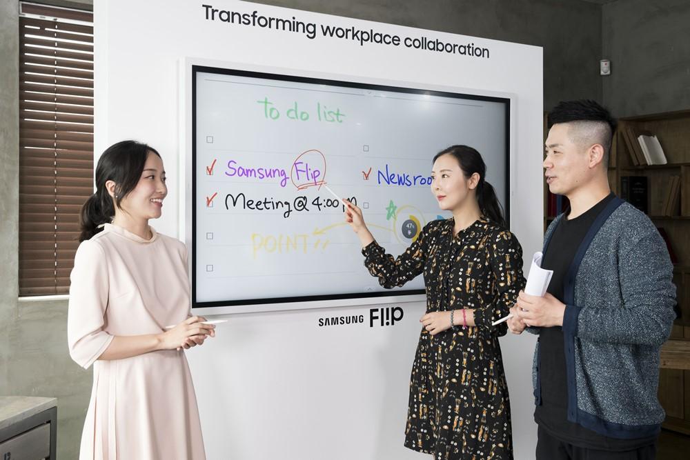 Samsung chính thức ra mắt Flip 2 tại Việt Nam: Bảng tương tác đa chức năng, kết nối đa dạng, kích thước lớn và nhiều tính năng tương tác