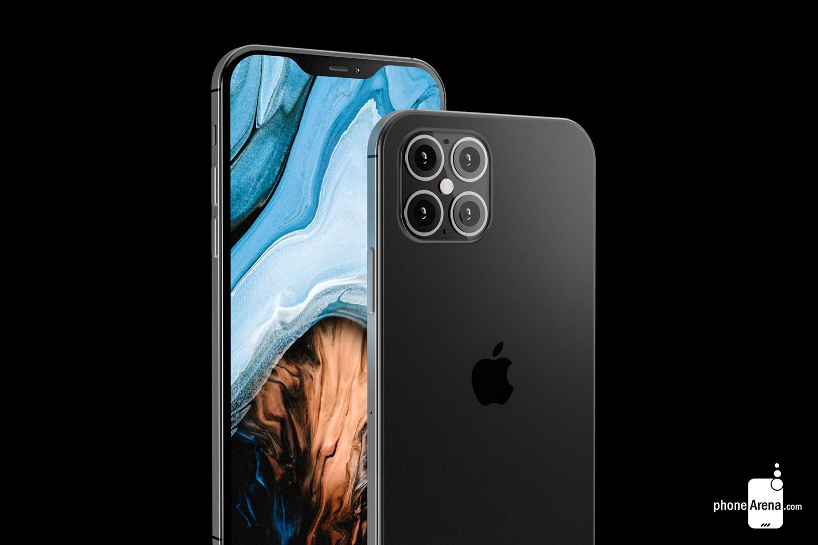 Cùng ngắm concept iPhone 12 với thiết kế giống iPhone 4, 'tai thỏ' nhỏ gọn hơn cùng 4 camera ở mặt lưng trông ra sao?