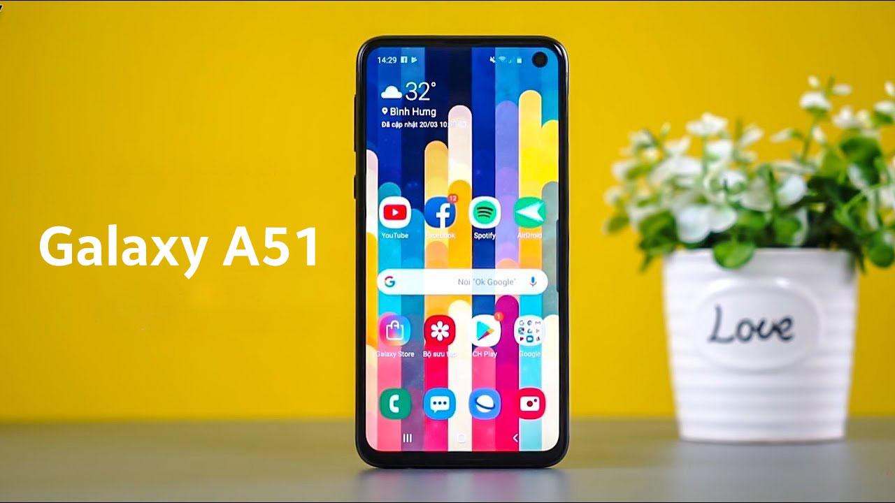 Lộ thông tin cho thấy Galaxy A51 sẽ có cụm 4 camera hình chữ L độc đáo