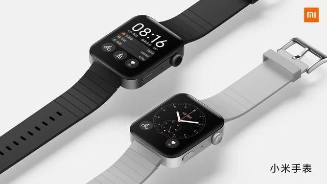 Xiaomi chia sẻ hình ảnh chính thức của đồng hồ thông minh Mi Watch, rất giống với Apple Watch