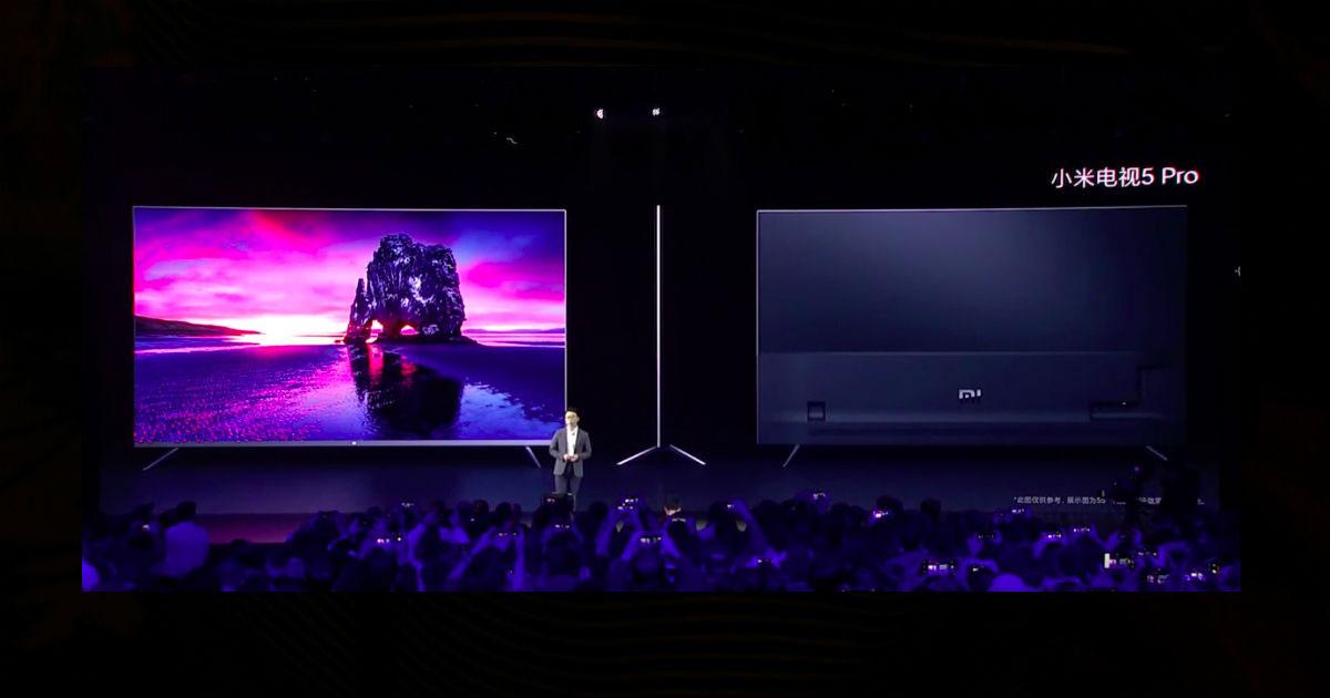 Xiaomi chính thức ra mắt Mi TV 5 Pro: Thiết kế tràn viền 99%, mỏng hơn iPhone 11, sử dụng công nghệ chấm lượng tử của Samsung