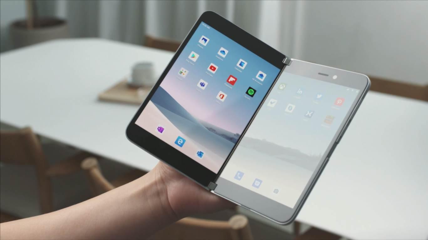 Samsung lộ bằng sáng sáng chế smartphone màn hình kép tương tự Surface Duo