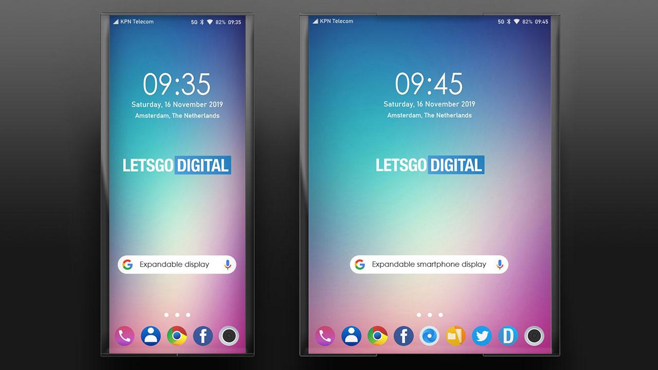 Lộ bằng sáng chế mới của LG với thiết kế smartphone có màn hình cuộn lại được