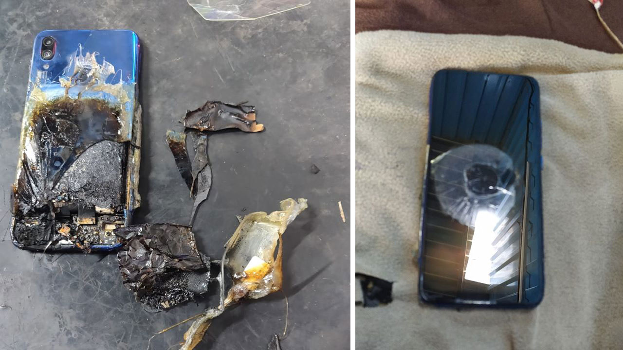 [Cập nhật: Xiaomi kết luận do bị tác động của ngoại lực dẫn đến cháy nổ] Redmi Note 7S tự bốc cháy, Xiaomi phủi bỏ mọi trách nhiệm