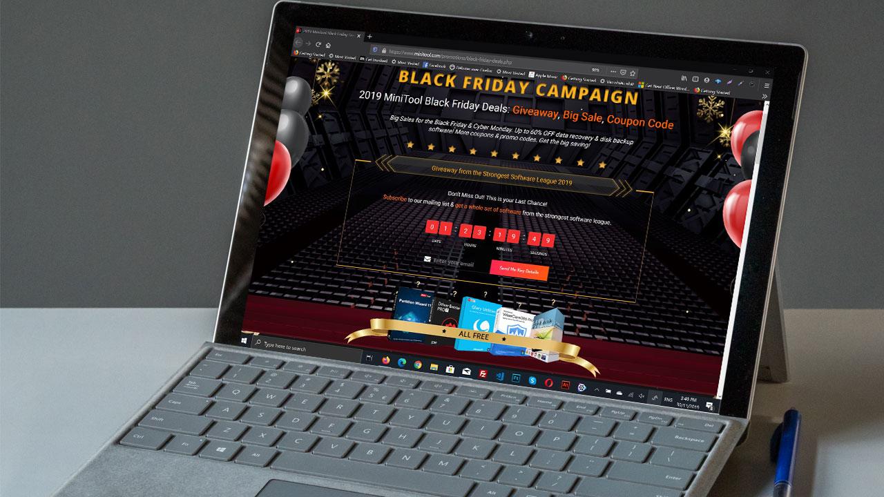 [30/11/2019] Nhanh tay tải về gói phần mềm bản quyền trị giá 200 USD đang miễn phí nhân dịp Black Friday